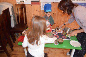 Italian restaurant for children