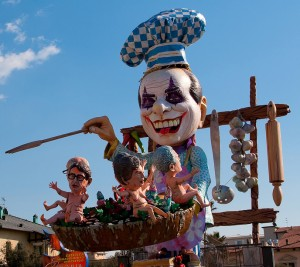 Carnival North of Italy