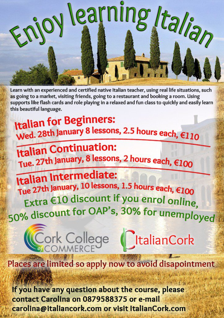 Italian for children Cork