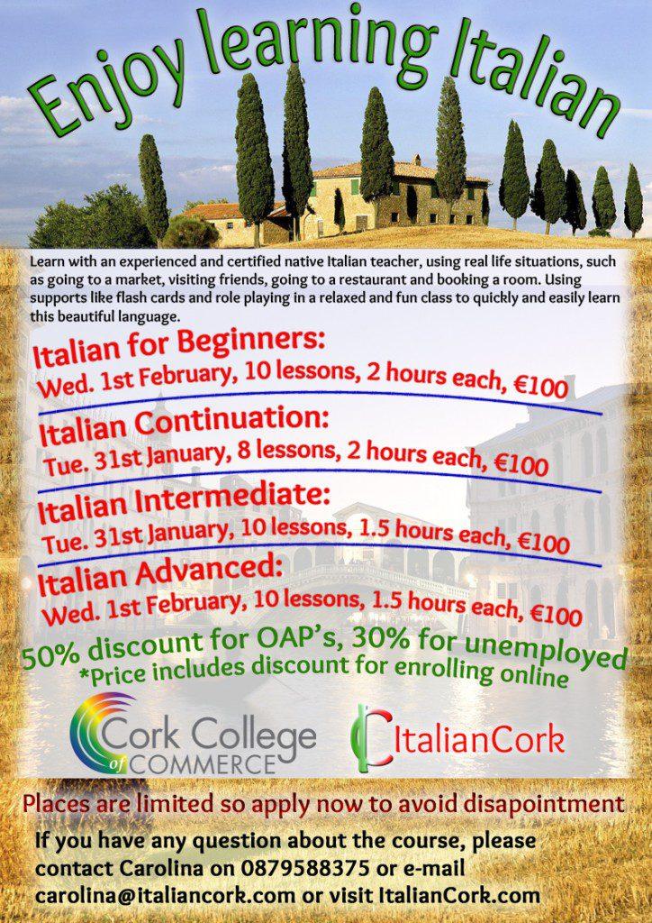 Italian in Cork